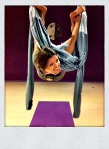 Air Yoga mit Yogaswing