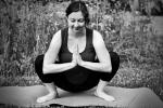 Yogaübung für Schwangere: Die Hocke