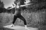 Krieger 2: Yoga für Schwangere