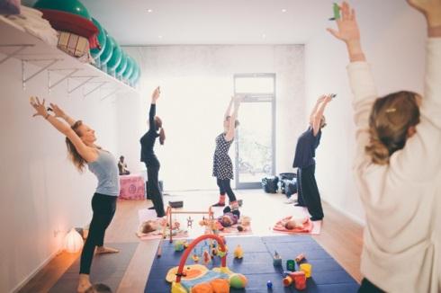 Yoga für Mama &Baby