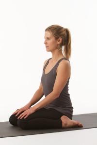 Yogaübung Virasana