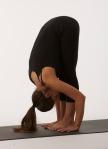 Yogaübung Uttanasana