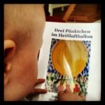 """Mein Bilderbuch """"Drei Pünktchen im Heißluftballon"""""""