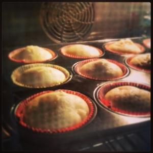 Apfel-Vanille-Muffins im Ofen