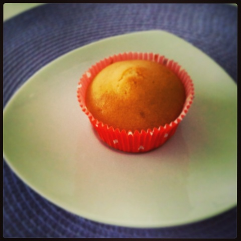 Veganer Apfel-Vanille-Muffin