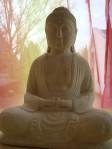 Buddha rot gelb