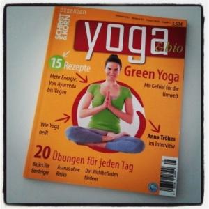 Yoga Zeitschrift Yogastern