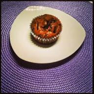 Schoko-Kirsch Muffin vegan