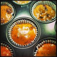 Vegane Schoko-Kirsch Muffins