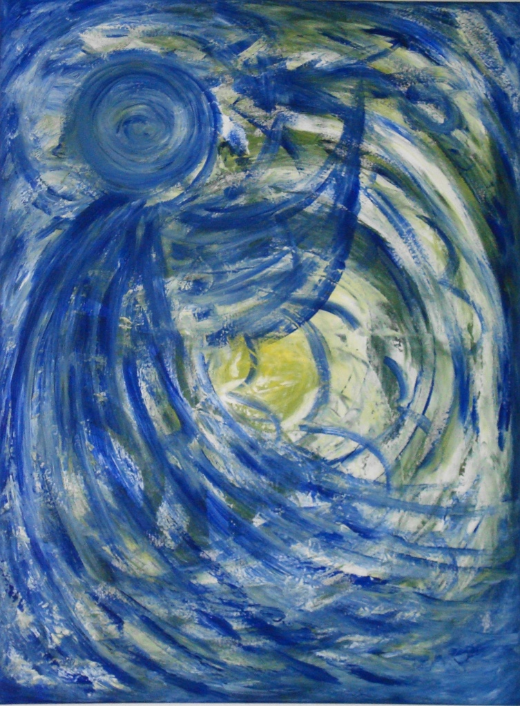Engel von Künstlerin Irmgard Koch