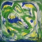 Grün von Künstlerin Irmgard Koch