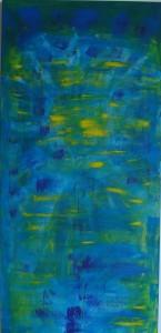 Blau von Künstlerin Irmgard Koch