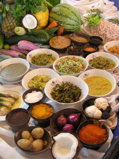Ayurvedische Speisen