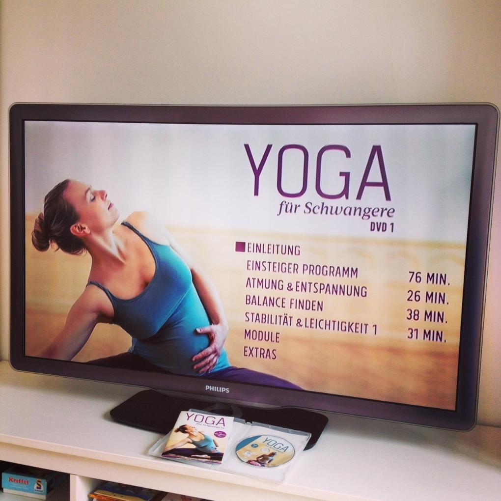 Yoga für Schwangere DVD im TV