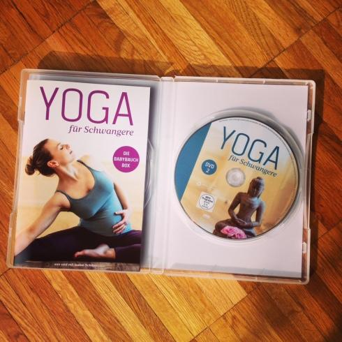 DVD Yoga für Schwangere