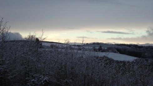 Schneelandschaft groß