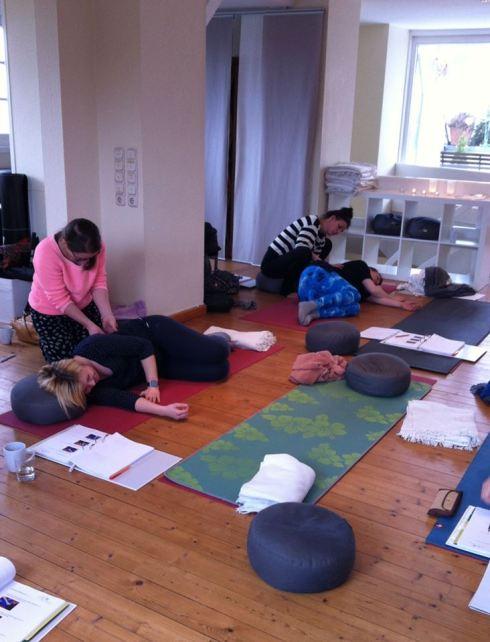 Massage bei Schwangeren